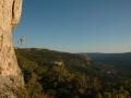 Climbing in Crni Kal
